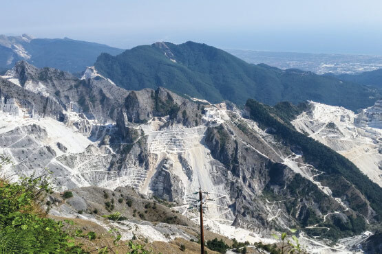 Carrara Marble quarry Carrara, Italy